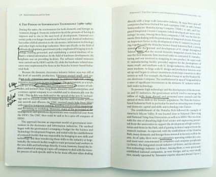 underlining