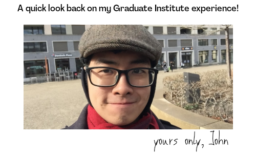Let's chat with a recent graduate from our Institute, John!